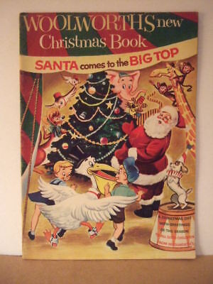 1954 Christmas story book woolworths records,fisher price,hubley,Gene Autry ads