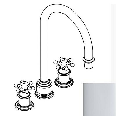 Kohler 350-3D-CP Antique Curio Deck-mount High-Flow Bath Faucet Trim in polished