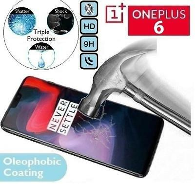 Genuine Tempered Glass Screen Protector One Plus Six (A6000 A6003) For OnePlus 6