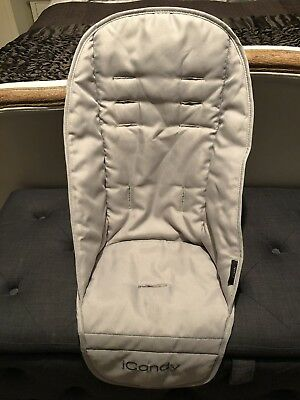 iCandy Peach Lower Seat Liner In Silver Mint