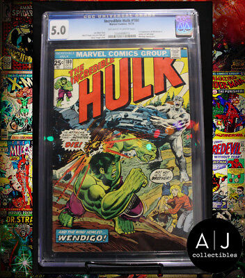 The Incredible Hulk #180 CGC 5.0 (Marvel) HIGH RES PICTURES!