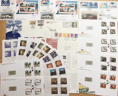 GB Collections of Stamps & First Day Issues Mixed Assorted Beetles Job Lot 3