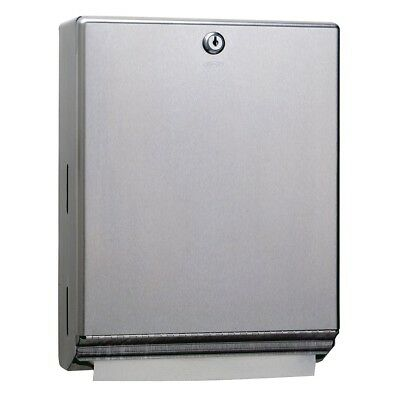 Bobrick B-262 Classic Series Surface-Mounted Paper Towel Dispenser , Brand New!