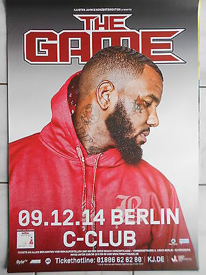 THE GAME 2014 BERLIN  --  orig.Concert Poster - Konzert Plakat  A1  NEU