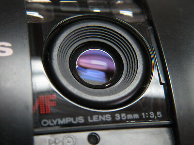 Olympus Infinity Stylus 35mm Film Compact Point & Shoot Working