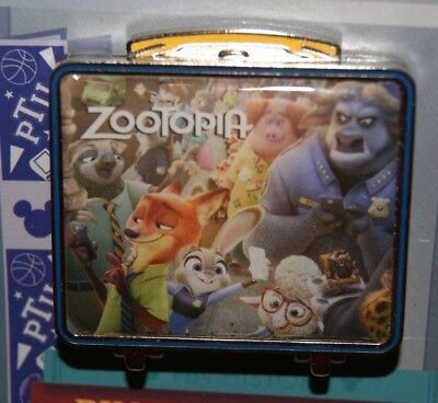 Disney 2018 Lunch Time Tales Pin Zootopia LE 1500