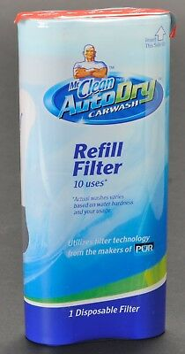 Mr Clean AutoDry Carwash Refill Filter 10 Uses New Sealed