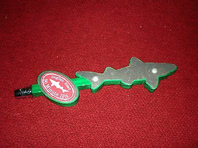 Dogfish Head Brewery Silver Green Shark 90 Minute IPA Craft Ale Beer Tap Handle