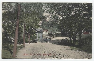 VT ~ Beaver Brook Bridge WILMINGTON Vermont c1907 Windham County Postcard