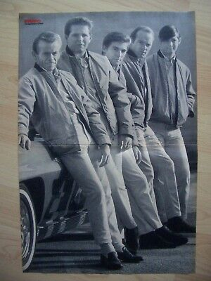 "The Beach Boys 1964+Bruce Lee""Die Todesfaust des Cheng Li"".Poster"
