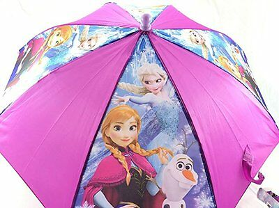 "New Arrive Disney Frozen Anna Elsa Olaf Trio Together 21"" Umbrella"