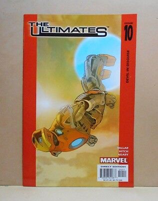 THE ULTIMATES Vol.1 #10 7/03 Marvel 9.0 VF/NM- Uncertified 1st Print Millar/Hitc