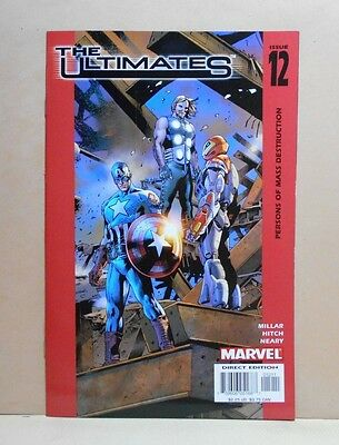 THE ULTIMATES Vol.1 #12 11/03 Marvel 9.0 VF/NM- Uncertified 1st Print B. Hitch