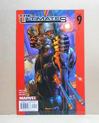THE ULTIMATES Vol.1 #9 4/03 Marvel 8.5 VF+ Uncertified 1st Print Millar/Hitch