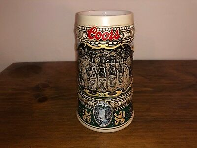 1990 Edition Coors Light Stein Mug Great Condition