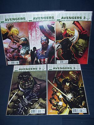 Ultimate Avengers 3 #1 - #3, #5, #6 NM with Bag and Board Marvel 2014