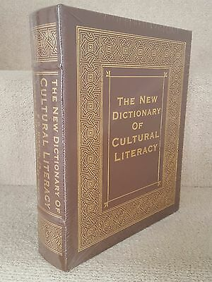 Easton Press THE NEW DICTIONARY OF CULTURAL LITERACY Leather-bound New Sealed