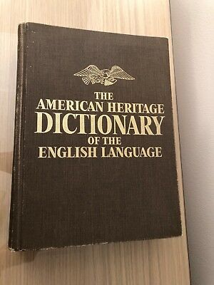 The American Heritage Dictionary of the English Language 1969 William Morris