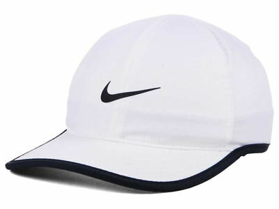 11eb73e8a0a4 Women s Nike Featherlight Dri-Fit White Hat Adjustable Tennis Hat Nike  Running
