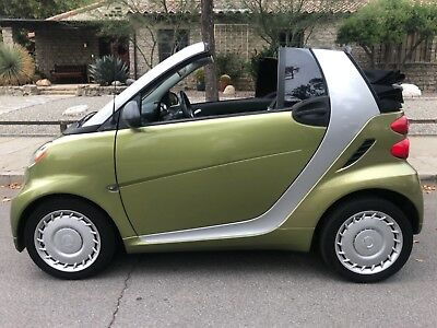 2013 Smart Cabrio PASSION CONVERTIBLE OUTHERN CALIFORNIA TOPLESS SMART CORROSION FREE GREEN CONVERTIBLE BEAUTY. TIDY!