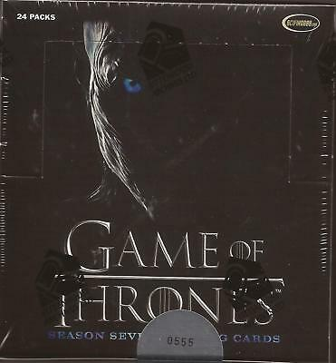 2018 Rittenhouse Game of Thrones Season 7 Factory Sealed Box wt 2 autographs