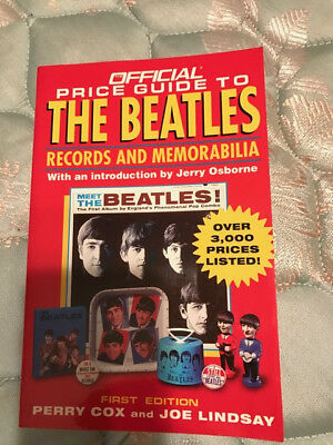 Official Price Guide to Beatles Records and Memorabilia