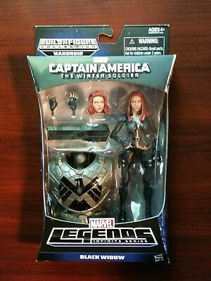 "Marvel Legends Mandroid BAF 6"" Figure New Sealed Captain America Black Widow"