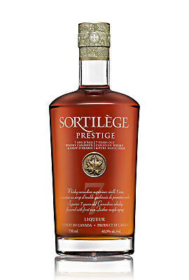Sortilege Prestige 7 Year Old Canadian Maple Whisky 750ml
