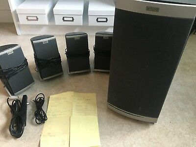 Altec Lansing 641 ACS641 Multimedia Speakers PC Computer Subwoofer 4.1 System