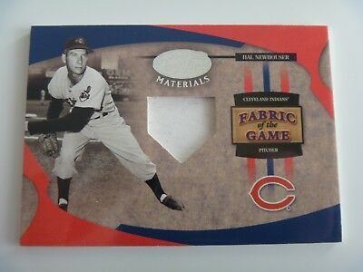 2005 Leaf Fabric of The Game 1/1 Pre-Production Proof SAMPLE Hal Newhouser