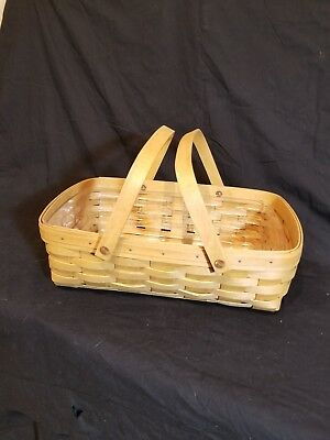 Longaberger Baskets Small Gathering Basket & Protector