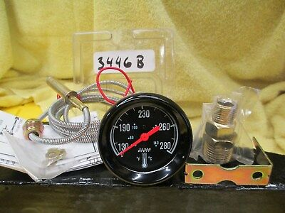 "Makes Waves brand Mechanical Water Temperature Gauge #3446b  ( 2 1/16"" Diameter)"