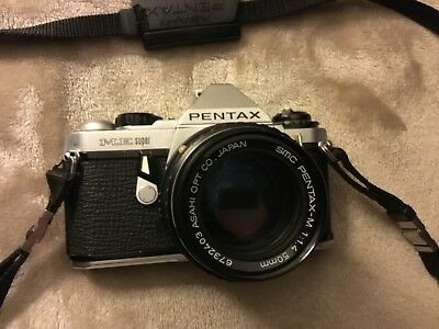 Vintage Pentax ME Super 35mm camera
