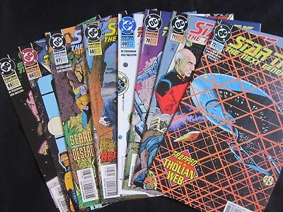 STAR TREK: Next Generation + Gen's TPB ~ Lot of 14 ~ DC COMICS ~ VF+8.5-NM+9.6