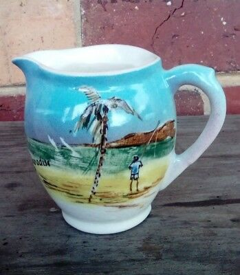 Studio Anna? Pottery JUG, Surfers Paradise QLD, Blue, Collect,