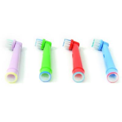 for Oral-B Braun Age 3+ Kids Children Electric Toothbrush Replacement Heads 4PCS
