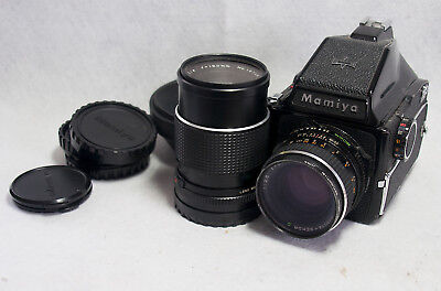 Mamiya 645 Camera with 2 lenses