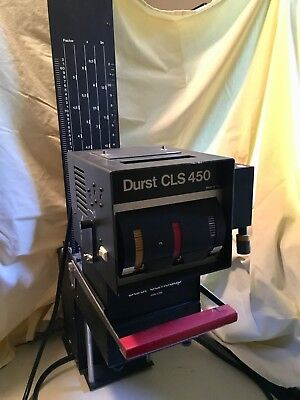 Durst Color Head Enlarger and Photo Darkroom Equipment