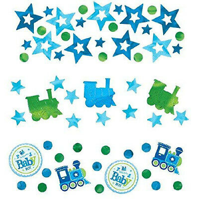 Amscan Welcome Baby Boy 3 Pack Value Confetti 34g