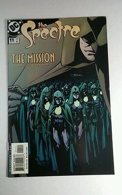 The Spectre Mission '02 Dc #11 Signed Autographed By Ryan Sook Comic Con Book