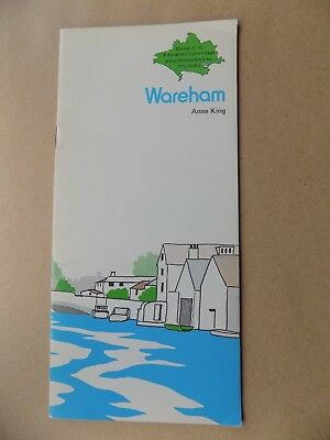 1976 'Wareham' by Anne King Guide Book 12 pages