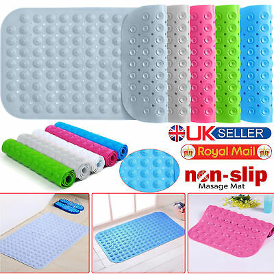 High Quality Large Strong Suction Anti Non Slip Bath Shower Mat Foot PVC Massage