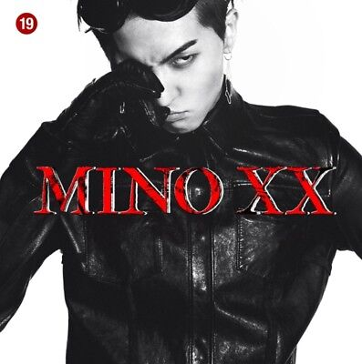 MINO FIRST SOLO ALBUM - XX Ver. 2 CD+Booklet+Art Book+Sticker+Polaroid+Bookmark