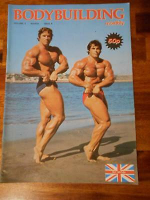 BODYBUILDING MONTHLY muscle magazine ARNOLD SCHWARZENEGGER & FRANCO/Reeves 3-79