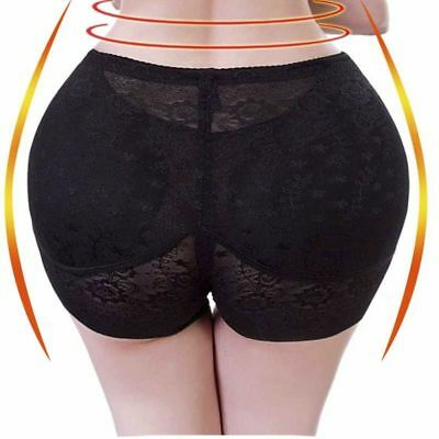 Women Bum Butt Lift Panties Fake Hip Padded Enhancer Body Shaper Underwear Soft