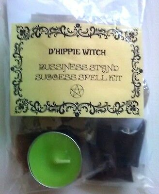 Wicca *BUSINESS STAND SPELL KIT* Witch Spell Kit Rituals Magic Pagan Ritual