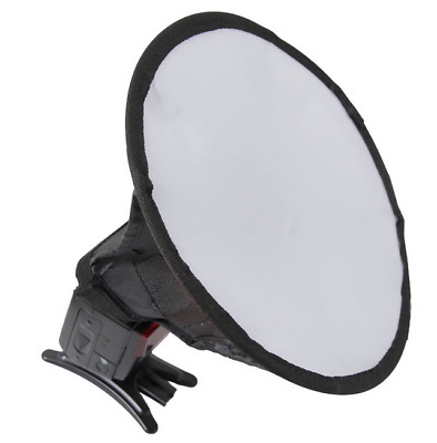 "20cm/8"" Round Photo Studio Strobe Flash Umbrella Softbox Diffuser Speedlight"