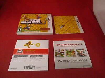 New Super Mario Bros. 2 Nintendo 3DS Empty Case ONLY (no manual or game)