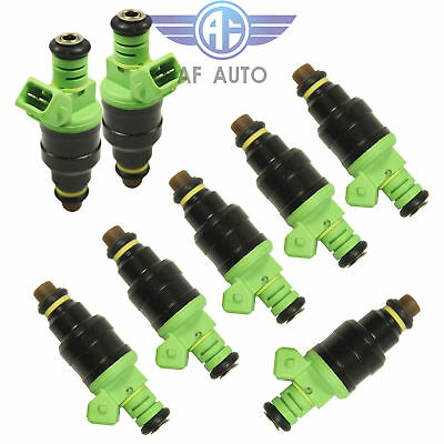 8X 42LB OEM Fuel Injectors For Bosch 06-15 Chevrolet