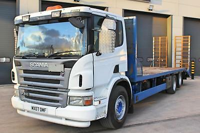 2007 Scania P310 6X2 Beaver Tail. Day Cab. 8 Speed Manual Gearbox.